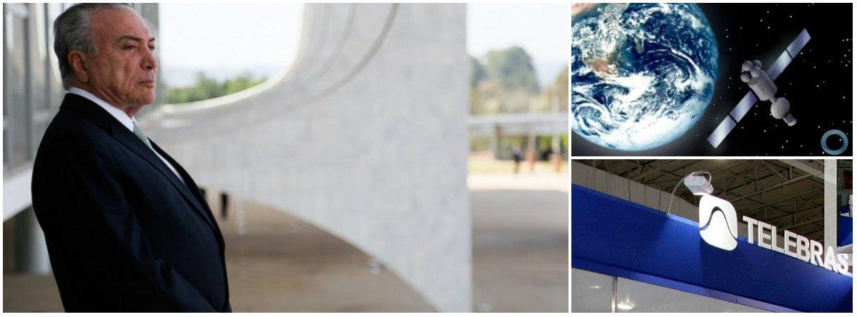 """A Telebrás, com o aval do Ministério da Ciência Tecnologia Inovação e Comunicações (MCTIC) do governo Temer, firmou um acordo com a americana Viasat, entregando a capacidade do Satélite Geoestacionário de Defesa e Comunicações Estratégicas (SGDC) à implementação e fornecimentos da empresa dos EUA; em texto publicado sobre o caso, o diretor de Atividades Técnicas do Clube de Engenharia, Marcio Patusco, afirma que a negociação se deu sem muitos detalhes da operação; """"O governo tem obrigação de explicar à luz das normas de licitações e da ética, a mudança do escopo do projeto original"""", diz ele; leia seu artigo"""