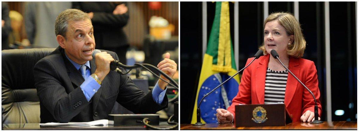 """O deputado estadual Ricardo Arruda (PEN), do Paraná, foi condenado pelo Tribunal de Justiça a tirar do ar um vídeo em que ele xinga a senadora Gleisi Hoffmann (PT-PR), presidenta nacional do PT, na Assembleia Legislativa; Arruda responde nesse caso por crime de injúria e o processo tramita em órgão especial do TJ-PR; no vídeo, ele usou termoscomo """"partido criminoso"""" e """"são mentirosos, bandidos e vagabundos""""."""