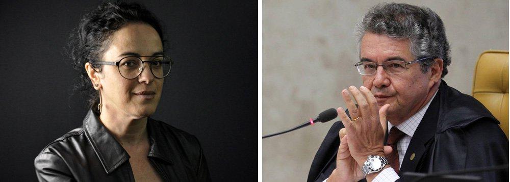 """""""Caro Ministro Marco Aurélio, coragem é uma virtude esquecida em tempos de espetacularização autoritária. Percebi, e espero não me enganar, que não falta coragem a você. Por isso, escrevo essa carta. Qual o sentido de deixar um homem ser preso se todos sabemos que essa prisão viola a Constituição?"""", questiona a filósofa, no texto endereçado ao ministro do STF"""