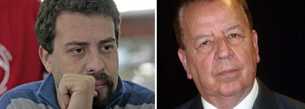 """Pré-candidato do PSOL à presidência, Guilherme Boulos reagiu com indignação à declaração do general do Exército da reservaLuiz Gonzaga Schroeder Lessa, que afirmou que, se o Supremo mudar o posicionamento contra a prisão após condenação em segunda instância, """"aí eu não tenho dúvida de que só resta o recurso à reação armada. Aí é dever da Força Armada restaurar a ordem"""";""""Absurdo! General da Reserva defende novo golpe militar se Lula for candidato. Estamos em abril de 2018 ou 1964?"""", questionou Boulos no Twitter"""