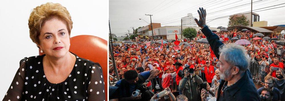 """""""Não estamos mais nos anos 50 do século passado, ou na ditadura militar, quando a eliminação física de adversários políticos era uma constante no Brasil e na América Latina. Essa prática não pode ser tolerada. Tais ataques não vão intimidar democratas e militantes políticos"""", disse a presidente eleita e deposta pelo golpe, Dilma Rousseff, em nota; leia a íntegra"""