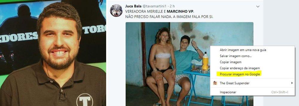 """O jornalista esportivo Allan Simon criticou a disseminação de notícias caluniosas contra a vereadora Marielle Franco (PSOL) e deu uma dica de desmascarar uma fake news; """"1) Clique com o direito na foto e clique em 'pesquisa imagem no Google'; 2) Veja os termos relacionados à foto original; 3) Encontre a imagem original; 4) Manda o troll enfiar o fake news onde achar mais confortável"""", escreveu Simon em seu twitter, em viralizou nas redes"""