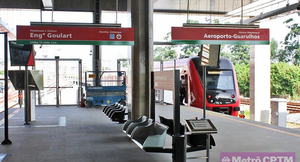 estação aeroporto São Paulo