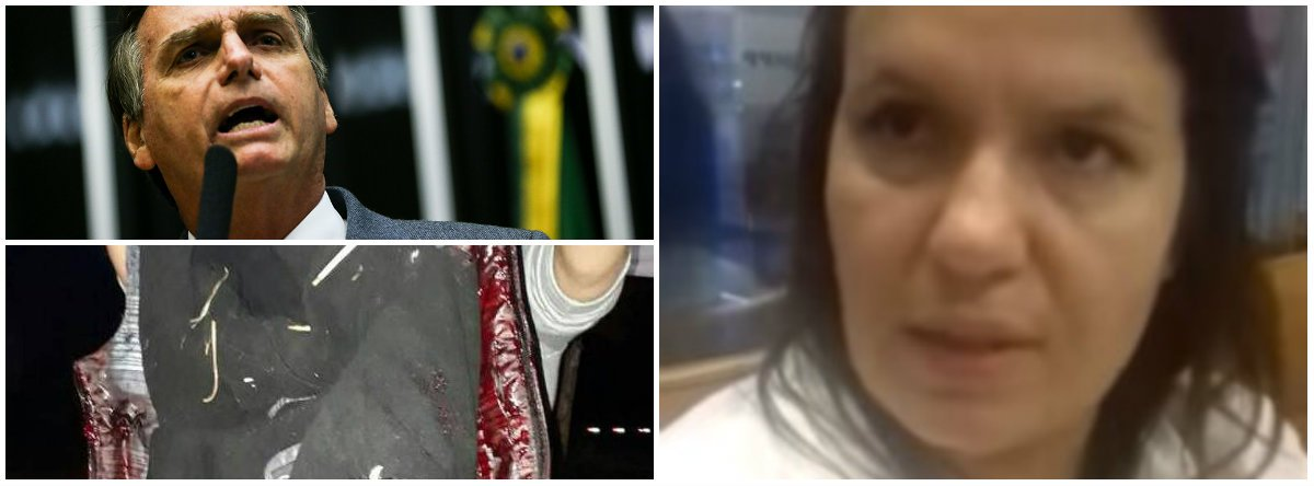 """A advogadaMarcia Koakoski da Silveira foi uma das duas pessoas feridas por causa dos tiros disparados contra o Acampamento Marisa Letícia, em Curitiba (PR). """"Quando fui ao banheiro, é que começou o confronto entre os vigante e os bandidos vestidos de Bolsonaro Ele gritavam o tempo todo 'Bolsonaro, presidente'"""", disse ela à sua colega Tânia Mandarino, também advogada; relato publicado no Diario do Centro do Mundo; acesse o link do vídeo"""
