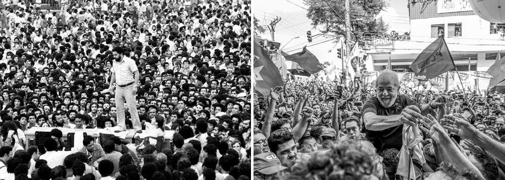 """""""Lula, evidenciando mais uma vez a sua grandeza, nos deixou, em seu derradeiro discurso, as palavras necessárias para alimentar a nossa anima, a nossa alma, a nossa luta"""", diz o colunista Lula Miranda; """"Eles capturaram o nosso maior comandante, e apostam no nosso abatimento, no nosso desalento. Mas não nos deixaremos abater. Agora, a partir de hoje, todos somos LULA! A semente está lançada em terra fértil. Pode-se encarcerar um homem inocente, é fato. Triste fato. Mas é impossível aprisionar e interditar as suas idéias. Portanto... Lula está LIVRE!"""""""