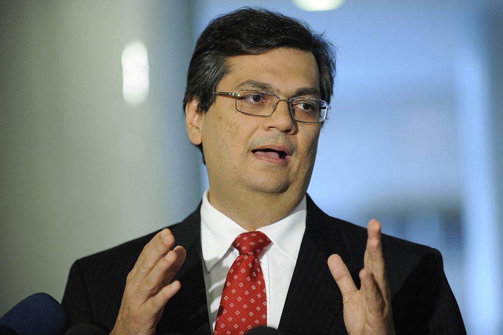Presidente da Embratur, Flavio Dino, durante entrevista no Palácio do Planalto sobre a redução dos preços dos hotéis no RJ para o Rio+20