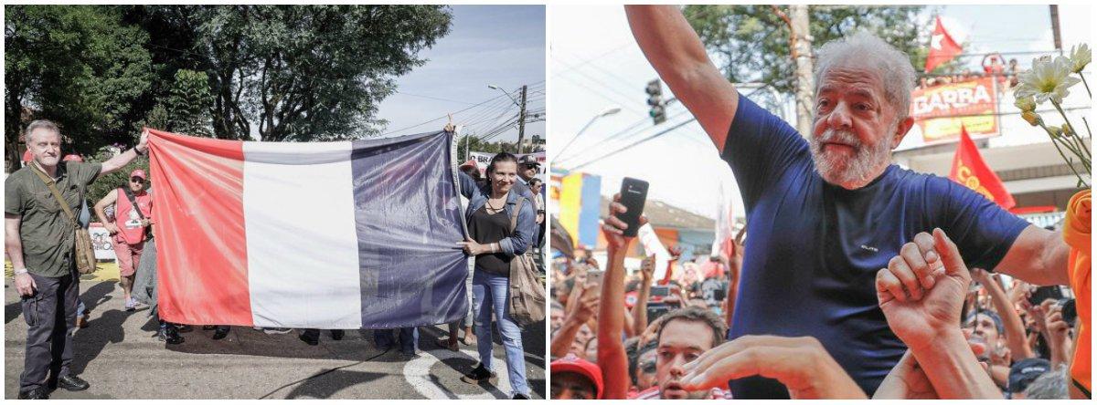 """""""Em nenhum lugar do mundo, um presidente saiu de um segundo mandato com 83% de aprovação, por vezes, no máximo 50% pode ser. E quando acontece de um presidente apresentar ter esse percentual, devemos resguardá-lo"""", diz o francês Michel Garambois em referência ao ex-presidente Lula; o europeu manda um recado aos brasileiros;""""Parar de perder tempo e recolocar Lula no cenário mundial. Lula é o único líder popular vivo do mundo"""""""