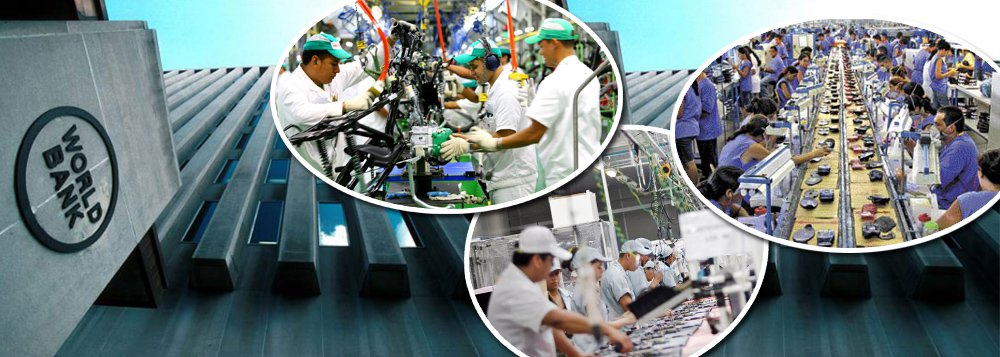 """O sociólogo Marcelo Zero rebate informações de relatório do Banco Mundial que aponta que """"salários mínimos elevados e obrigatórios elevam os custos dos trabalhadores menos qualificados"""", incentivando a informalidade; ele aponta que, ao contrário do que diz o documento, """"no Brasil dos governos do PT, o salário mínimo cresceu 77%, em termos reais, mas, mesmo assim, foram gerados 22 milhões de empregos formais e a formalização do mercado de trabalho cresceu apenas de 45,7%, em 2003, para 57,7%, em 2014""""; para ele, """"quando se faz uma comparação internacional, dizer que o salário mínimo no Brasil está muito elevado é um disparate completo""""; """"Salários nababescos recebem os economistas do Banco Mundial para escrever disparates como esse"""", dispara"""