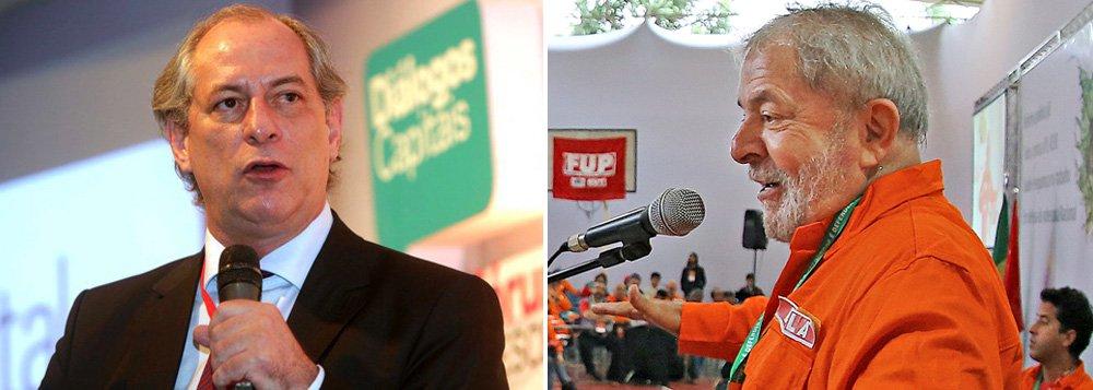 """""""Ciro tem que descer do pedestal, se convencer e convencer o seu partido que o melhor caminho é o PDT aliar-se ao PT. E também se convencer que, como o PT é muito maior e muito mais popular que o PDT, o que é notório, cabe ao seu partido e a ele o cargo de vice"""", defende o colunista do 247 Alex Solnik; """"Se Ciro tem certeza que Lula será impedido pela ficha limpa, como disse hoje, mais uma vez, na hora em que isso acontecer ele, sendo vice de Lula, poderá assumir a cabeça de chapa e herdar automaticamente os votos que seriam de Lula. E provavelmente ganhar e governar juntamente com Lula"""""""