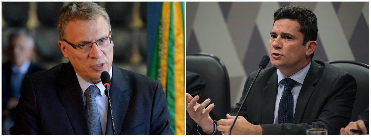 """O ex-ministro da Justiça Eugênio Aragão criticou o juiz federal Sergio Moro, após a notícia de que o magistrado vai estudar nos EUA; """"Moro pediu licença pra ir estudar no EUA, recebeu salário, e não foi. Improbidade administrativa. Pediu pra sair do UFPR, mas o processo contra ele vai continuar"""", disse Aragão em vídeo no Facebook; segundo o ex-ministro, o magistrado tem suas """"costas sendo seguradas pelo americanos. Não é só amizade, é 'brother' dos americanos"""". Aragão afirmou, ainda, que Morotem a """"cara feira de todo este sistema"""" alinhado com os interesses dos EUA"""