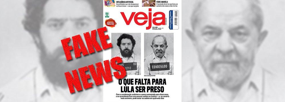 Não se sabe ainda de quem virará encarte, mas é certo que a revista Veja está em seus últimos espasmos de ódio. A publicação da Abril já respira por aparelhos. Por isso as contundências nas fake news — as diabólicas notícias falsas –, a exemplo desta do suposto plano da Polícia Federal para o dia da prisão de Lula