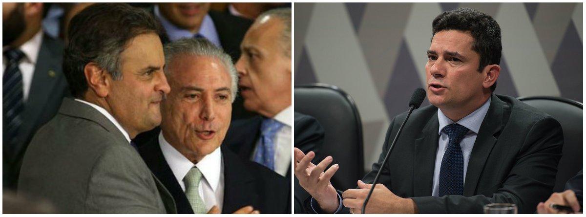 """""""A disputa política com a 'oposição profundamente fragilizada' foi, progressivamente, substituída pela disputa com a mídia (ou nem tanto, pois frequentemente ela era aceita como reitora), e encarnada por elementos da Justiça, como Sérgio Moro e Rodrigo Janot, que adquiriram poderes impensáveis numa democracia"""", diz Fernando Brito, do Tijolaço; segundo o blogueiro,a democracia no Brasil está """"arruinada nas mãos de uma classe dominante rastaquera, sem projeto de país, de governantes infames e – este é o dado mais novo e decisivo – de um Judiciário que perdeu toda a formalidade"""""""