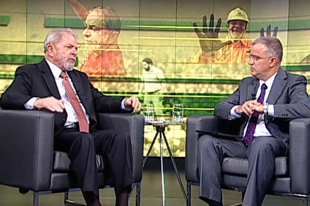Kennedy Alencar e Lula