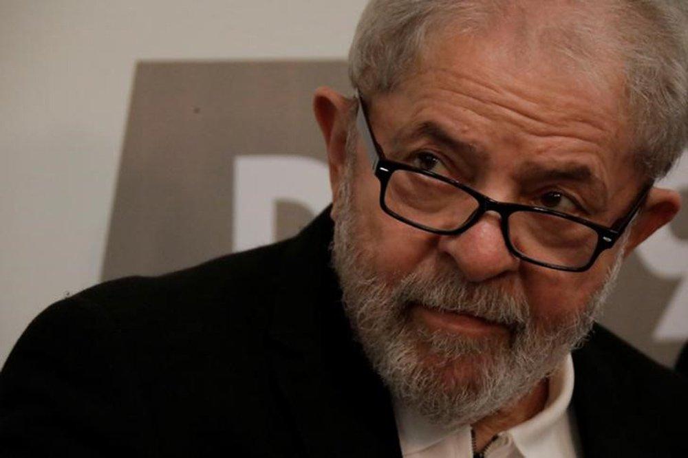 Ex-presidente Luiz Inácio Lula da Silva durante seminário em Brasília 09/10/2017 REUTERS/Ueslei Marcelino
