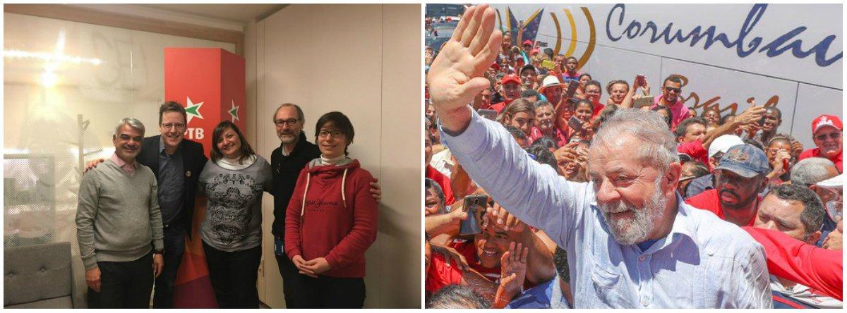 """Em missão oficial do PT em Bruxelas, para participar de reuniões no Parlamento Europeu e denunciar a perseguição judicial contra o ex-presidente Lula, o líder da Oposição no Senado, Humberto Costa (PE), disse queé preciso mostrar ao mundo que a situação no Brasil piorou bastante após o golpe contra Dilma Rousseff, em 2016, com aumento da corrupção, da pobreza e do desemprego; """"Como se não bastasse uma quadrilha ter tomado de assalto o poder e reduzido as políticas sociais a pó, temos de conviver com a condenação injusta de Lula, o futuro presidente deste país"""""""