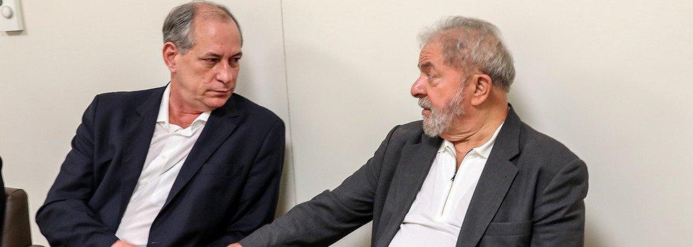 """""""Nesse momento, ele tem que falar coisas que agradem o seu público"""", comentou Ciro Gomes; """"Mas eu quero falar uma coisa para o povo brasileiro. Nos últimos 16 anos nós trabalhamos juntos. E eu espero que no segundo turno a gente possa se encontrar. Acho que temos um encontro marcado no segundo turno"""", acrescentou o ex-ministro; em entrevista à Folha nesta quinta, Lula disse""""pela direita, ninguém será presidente sem o apoio dos tucanos. Pela esquerda, ninguém será presidente sem o PT"""""""