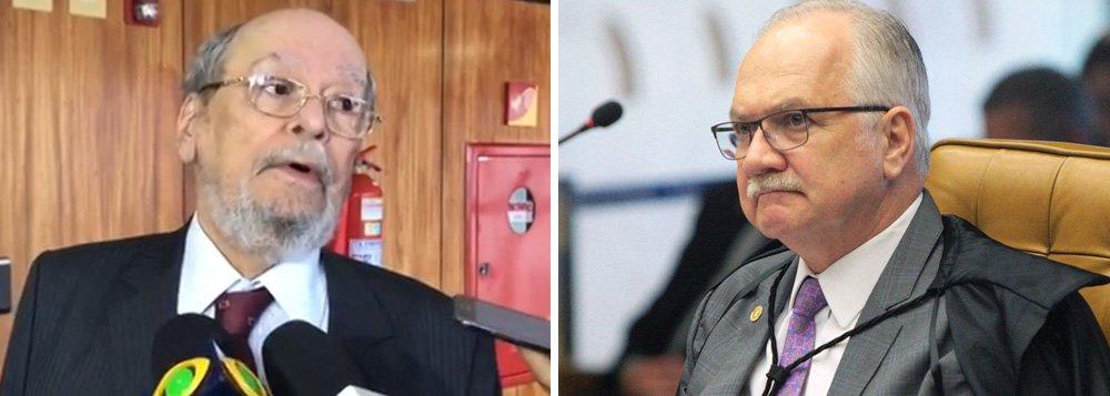 """O advogado do ex-presidente Lula, Sepúlveda Pertence, pediu nesta quinta-feira, 8, ao ministro Edson Fachin que tome uma decisão sobre o habeas corpus apresentado por Lula ao STF contra prisão do ex-presidente; """"Nós fizemos o apelo dada a velocidade do tribunal de Porto Alegre, está aberto o prazo para os embargos de declaração e, consequentemente, próximo à queda da suspensão da ordem de prisão"""", disse Pertence após a reunião; Lula tem o direito de recorrer da condenação ao STJ e ao STF; no entanto, ele pode ser preso no momento em que se esgotarem os recursos no tribunal no TRF-4"""