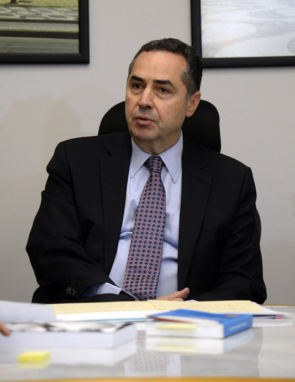 Brasília - O ministro do Supremo Tribunal Federal (STF), Luís Roberto Barroso, durante encontro com membros da Comissão Especial do Impeachment (Valter Campanato/Agência Brasil)