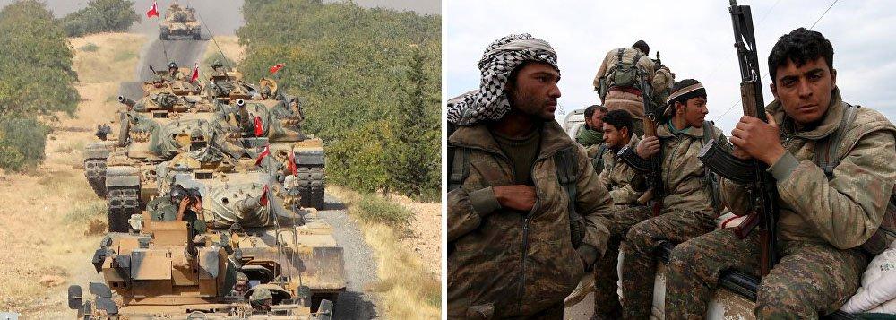 De acordo com o presidente da Turquia, Recep Tayyip Erdogan, a decisão de Washington de prestar apoio financeiro à Unidades de Proteção Popular (YPG), organização armada curda, irá afetar a postura de Ancara