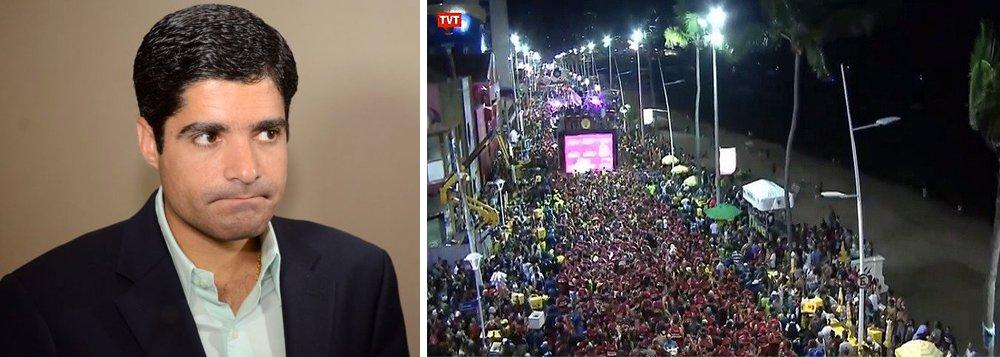 Para a Central, ao impedir a colocação das câmeras da TVE no circuito Barra Ondina, a prefeitura de Salvador beneficia a Rede Globo, aliada do prefeito do DEM, aponta reportagem da RBA