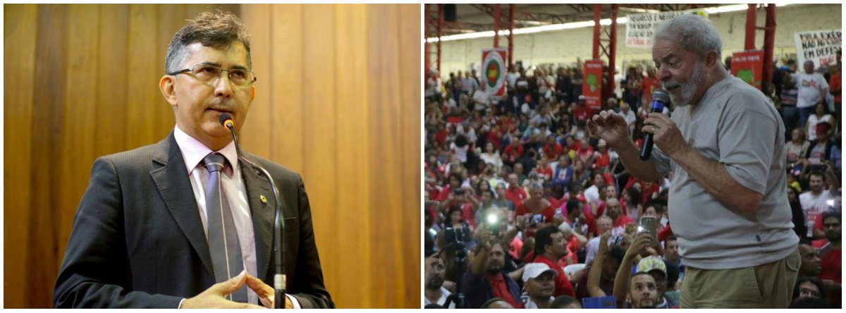 """O deputado estadual Aluísio Martins (PT) afirmou que a pesquisa Datafolha, divulgada demonstrou a condenação do ex-presidente Lula não teve efeito negativo para o principal nome do partido, que segue líder isolado nas intenções de voto; """"E o PT continua, de fato, com um único plano, que é a candidatura do ex-presidente, não temos plano B e vamos continuar insistindo nisso até o momento da candidatura"""", disse o parlamentar"""