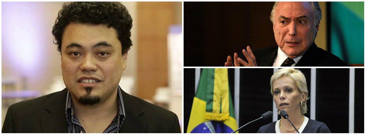 """De acordo com o jornalista Leonardo Sakamoto, """"Temer empurrou goela abaixo da população uma Reforma Trabalhista, que não estava no projeto de país vendido pela chapa Dilma/Temer nas eleições de 2014. Da mesma forma, aprovou uma Lei da Terceirização Ampla, abrindo a possibilidade de precarização de uma massa de trabalhadores""""; """"Governabilidade. Palavra que justifica tudo, inclusive rifar o trabalhador em nome do trabalhador"""""""