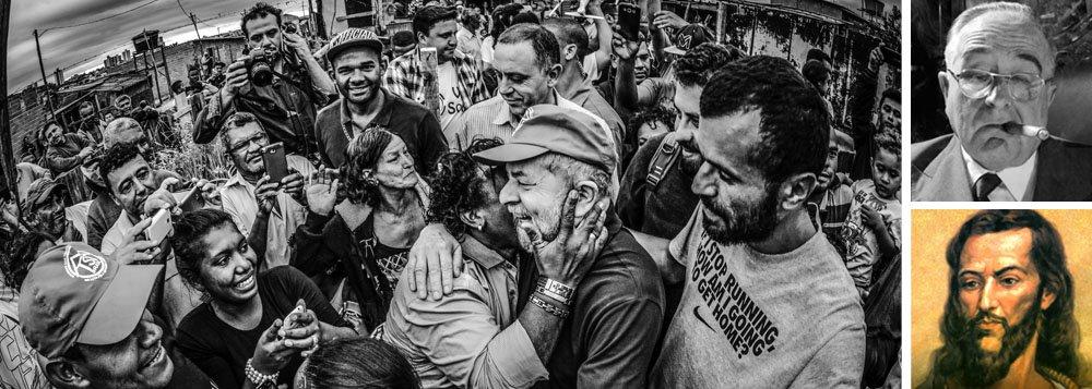 """""""Ao recorrer aos tribunais para banir Lula da vida pública, a direita nacional reconheceu sua própria incapacidade de derrotá-lo nas urnas"""", diz o jornalista Leonardo Attuch, editor do 247; segundo ele, Lula já supera Getúlio Vargas no imaginário popular e poderá entrar para a história como o maior herói nacional se o Judiciário insistir em não apenas persegui-lo, mas também humilhá-lo"""