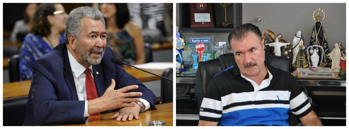 A Procuradoria-Geral da República (PGR) denunciou os deputados federais Cícero Almeida (Podemos-AL) e Paulão (PT-AL) pelo crime de peculato; caso é resultado das investigações da Operação Taturana, deflagrada em 2007 pela Polícia Federal para apurar um desvio de mais de R$ 200 milhões na Assembleia Legislativa de Alagoas (ALE); se forem condenados, os parlamentares podem pegar de dois a 12 anos de reclusão, além de serem obrigados a pagar multa em valor a ser estabelecido pela Justiça