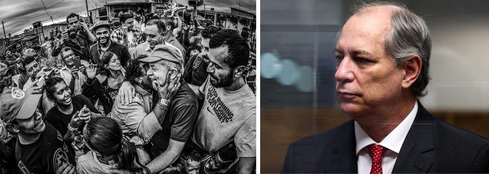 """Embora tenha dito que a condenação do ex-presidente Lula não é """"boa para o país"""", o pré-candidato à presidência pelo PDT, Ciro Gomes, afirmou que o PT mantém o país """"refém de um conjunto de 'chicanas' e recursos judiciais"""", por ter mantido a candidatura de Lula após a condenação em segunda instância; """"O seu papel (de Lula) não é mais de repartir a sociedade brasileira, por mais involuntariamente que ele faça, mas do alto de sua autoridade moral, unir a sociedade brasileira"""", disse;para ele, """"a natureza do PT, assim como a do escorpião, é afundar sozinho""""; com as declarações, Ciro pode ter queimado as pontes"""