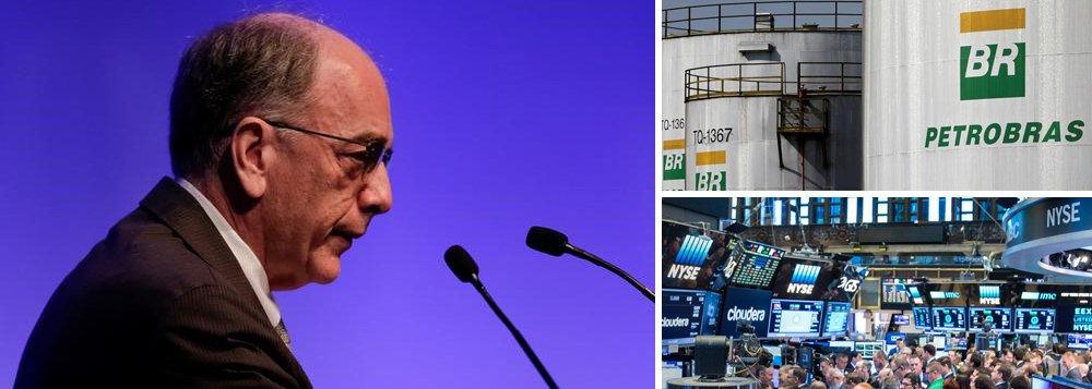 """A Petrobras comunicou ao mercado nesta quinta-feira, 1º, que a Justiça dos Estados Unidos aceitou preliminarmente sua proposta com fundos abutres, pelo qual a empresa se propõe a pagar, sem ter sido condenada, indenização de R$ 10 bilhões por eventuais perdas causadas por corrupção; segundo a nota divulgada por Pedro Parente, a decisão representa """"um passo importante para resolver os processos contra a Petrobras perante a Corte Federal de Nova Iorque""""; audiência entre as partes será realizada em junho e pode selar o negócio da China para os investidores americanos"""