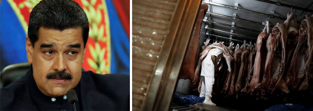 O presidente venezuelano, Nicolás Maduro, acusou Portugal e Colômbia de sabotagem, após os dois países impedirem envio do alimento a tempo para as festas de fim de ano; 2,2 toneladas do produto ainda não foram entregues
