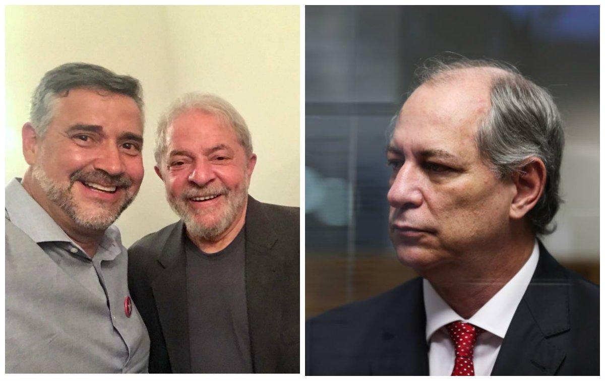 Pimenta e Ciro Gomes
