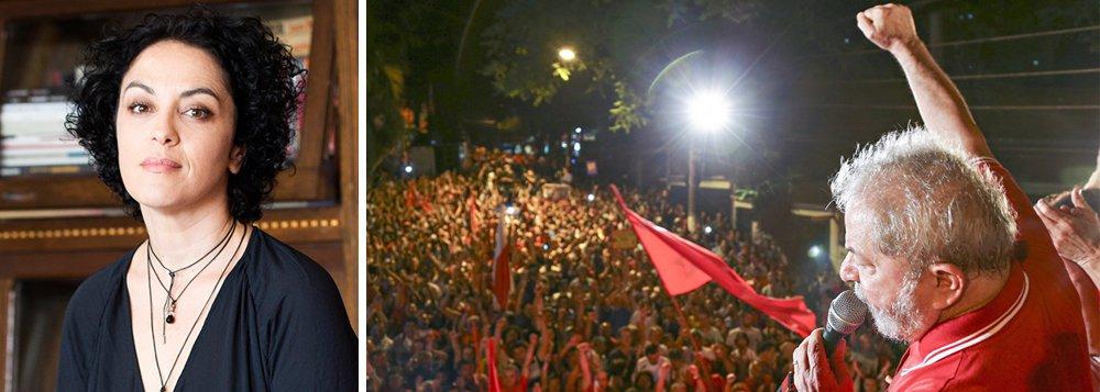 """O abismo em que estamos pode se aprofundar se impedirem a candidatura do ex-presidente Lula, alerta a filósofa Márcia Tiburi; ela ressalta ainda em entrevista ao Portal da CUT que o """"golpe rasgou a Constituição"""" e que """"o Brasil vive hoje um Estado de Exceção"""""""