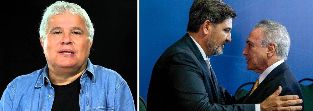 """O colunista Ricardo Noblat, da Veja, afirma que a trapalhada de Fernando Segóvia é culpa do próprio Michel Temer, a quem descreve como """"conspirador""""; """"Não pode ser bobo quem conspirou com êxito para derrubar uma presidente, assumir seu cargo, aprovar medidas impopulares no Congresso, e safar-se de duas denúncias de corrupção"""", diz ele; """"Salve, Temer! – por ter posto na Polícia Federal um diretor-geral para chamar de seu. Em compensação, como esperteza em excesso engole o esperto, ele arrisca-se a ser alvo de mais uma denúncia de corrupção"""", diz Nobla"""