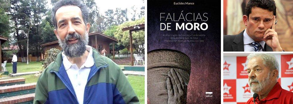 """Filósofo autor do livro """"Falácias de Moro"""" afirma, em entrevista à TV 247, afirma que quando leu a sentença do juiz Sergio Moro contra o ex-presidente Lula notou """"que havia nela várias falhas de lógica – e não eram poucas""""; """"Falácia é um erro de raciocínio"""", explicou Euclides Mance, """"que leva a tomar o falso por verdadeiro""""; """"A existência das falácias invalida as conclusões a que o juiz chega"""", acrescenta; segundo ele, """"a sentença não diz quem, onde, como, quando, porque e com quais poderes tornou o ex-presidente proprietário real desse imóvel, pois ele nunca foi entregue, o ex-presidente nunca o recebeu""""; assista à íntegra"""