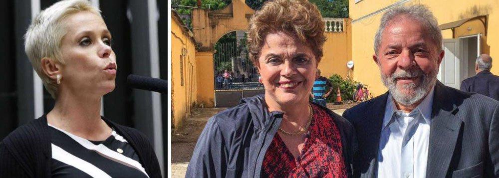 """""""A Folha de S. Paulo criticou a decisão de um juiz de primeira instância que, por meio de liminar, proibiu a posse da deputada federal Cristiane Brasil, filha de Roberto Jefferson, como ministra do Trabalho"""", reforça o jornalista Joaquim de Carvalho, no Diario do Centro do Mundo; """"É fato, mas a Folha não expressou a mesma opinião quando Dilma Rousseff nomeou Lula para a Casa Civil, em março de 2016, e juízes proibiram sua posse""""; blogueiro relata que o """"jornal só foi dizer o que pensa um ano depois do veto à nomeação de Lula, já no governo Temer, quando a secretaria chefiada por Moreira Franco ganhou status de ministério para que ele tivesse foro privilegiado"""""""