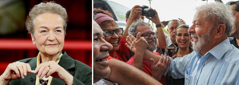 """""""Depende da decisão do TRF-4 em Porto Alegre se Lula poderá ou não ser candidato do PT nas próximas eleições presidenciais no Brasil. É justamente isso que os donos do poder no Brasil atual pretendem evitar por todos os meios, em associação com o conglomerado midiático Globo, que pauta a opinião pública"""", afirma HertaDäubler-Gmelin; o relato foi publicado no DCM"""