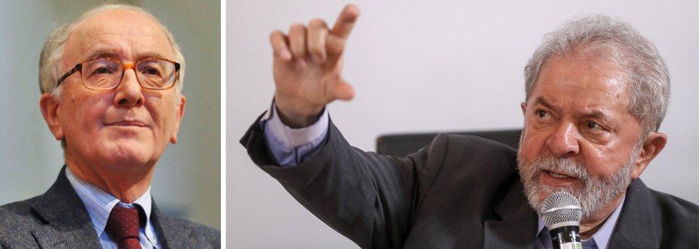 """Em carta, o jurista italiano Luigi Ferrajoli, principal teórico do Garantismo, faz um alerta ao mundo de que Lula não está tendo direito a um julgamento justo e imparcial; """"Quero expressar minhas preocupações sobre as formas com que o julgamento contra o ex-presidente foi criado e conduzido"""", anuncia o jurista, que aponta """"uma ausência impressionante de imparcialidade por parte dos juízes e procuradores que o promoveram, dificilmente explicável senão com a finalidade política de pôr fim ao processo de reformas que foi realizado no Brasil"""""""