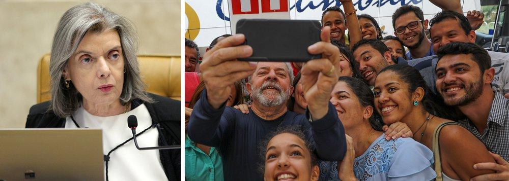 """""""Enquanto até juristas ultraconservadores como Ives Gandra Martins se manifestam a favor do habeas-corpus para Lula, prolongado silêncio de Carmen Lúcia sobre o caso gera incertezas e dúvidas num país onde é preciso reconstruir o pacto democrático rompido por um impeachment sem crime de responsabilidade"""", escreve Paulo Moreira Leite, articulista do 247; lembrando que a censura ao Vampirão da Tuiti desmoralizou a jurisprudência """"Cala a boca já morreu"""" lançada pela presidente do Supremo, PML afirma: """"não consigo imaginar que a improvisada intervenção federal ocorrida no Rio de Janeiro teria ocorrido se, do outro lado da Praça dos Três Poderes, o país tivesse um STF atuante, apegado a sua autoridade de guardão da Constituição"""""""