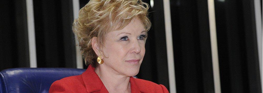 Mesa: Presidente da sessão, senadora Marta Suplicy (PT-SP).