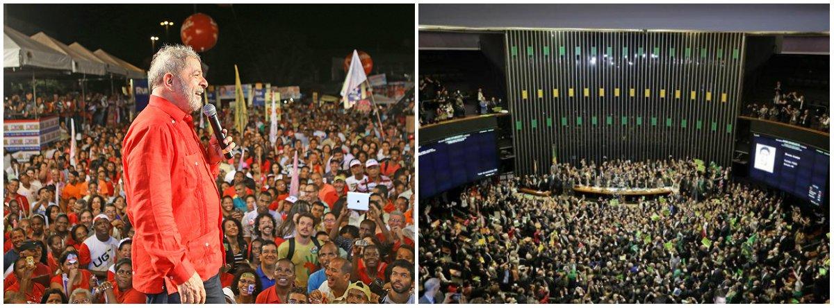 Em ano eleitoral, os congressistas se sintonizarão com as demandas das ruas ou com as do Palácio do Planalto? Contra essa conjuntura, as ruas querem Lula, diz pesquisa Datafolha, para barrar reformas impopulares como a da Previdência. A do trabalho, aprovada ano passado, já produz estragos