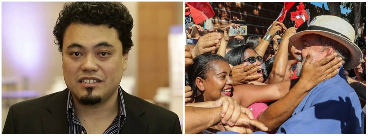 """Jornalista Leonardo Sakamoto afirma que """"Lula, além de uma quantidade consolidada de apoiadores históricos, tem a lembrança do bom momento de emprego em seu governo, que garantiu poder de consumo para a chamada 'nova classe média'""""; """"Em todos os cenários em que aparece como candidato à Presidência da República, Lula segue com, pelo menos, o dobro de votos do segundo colocado, de acordo com a pesquisa Datafolha divulgada nesta quarta (31)"""""""