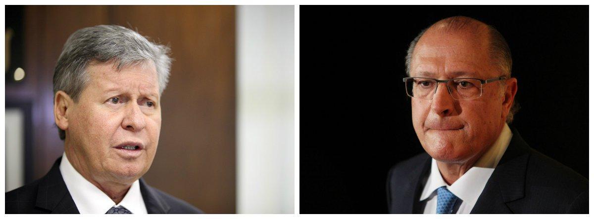 Prefeito de Manaus, Arthur Virgílio (PSDB), e governador de São paulo, Geraldo Alckmin (PSDB) 2