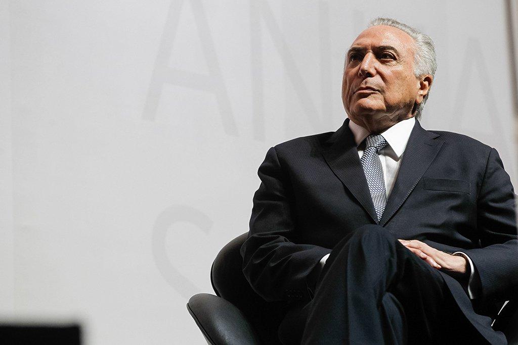 São Paulo - Presidente Michel Temer participa da abertura da 18ª Conferência Anual Santander (Beto Barata/PR)