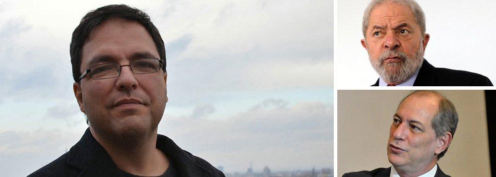 """""""Eleição sem Lula é golpe. Mas não é um golpe contra Lula; é um golpe contra a possibilidade de retorno do Brasil à democracia"""", diz o professor Luis Felipe Miguel, da Universidade de Brasília; """"Quem julga que pode se beneficiar da ausência de Lula nas eleições de outubro precisa entender que o veto que o Judiciário brasileiro está impondo não é só a Lula, é a qualquer alternativa que se disponha a interromper o golpe e seus retrocessos. Se Ciro Gomes acha que chegará ao Planalto graças à condenação do ex-presidente ou é um ingênuo ou sabe que sua retórica de esquerda é só fachada"""""""