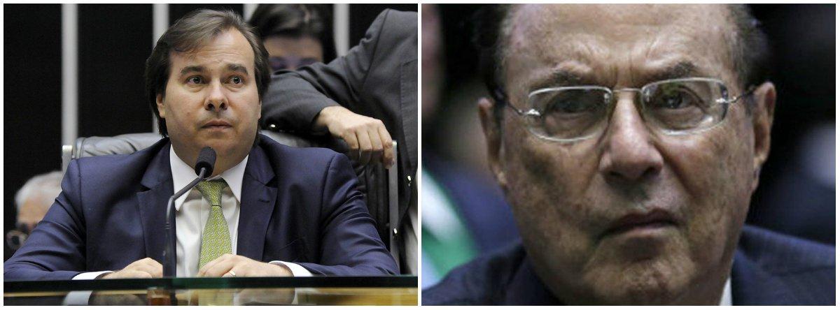 O presidente da Câmara dos Deputados, Rodrigo Maia (DEM-RJ), também afirmou a Corte também deverá decidir se esse tipo de caso tem de ter o aval do plenário da Casa ou pode ser definido pela Mesa Diretora, formada por apenas 7 dos 513 deputados; deputado Paulo Maluf (PP-SP) foi condenado a sete anos, nove meses e dez dias de prisão em regime fechado por receber propina em contratos públicos com as empreiteiras Mendes Júnior e OAS quando era prefeito de São Paulo (1993-1996)