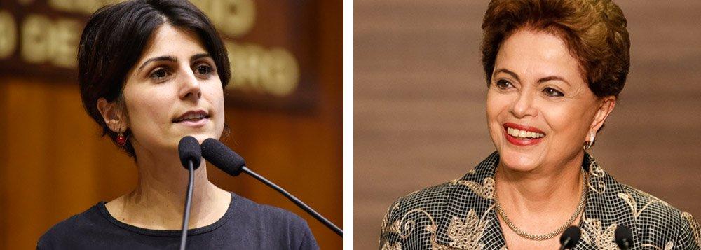 """""""É preciso entender que a saída da turma do Temer para a crise é uma saída antidemocrática"""", denunciou a pré-candidata Manuela D'Ávila, do PCdoB. Ela reforça que o golpe contra o mandato da presidenta Dilma foi por suas """"qualidades, não pelos seus defeitos"""""""