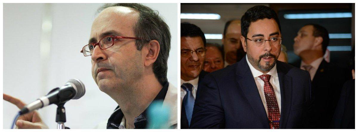 Jornalista Reinaldo Azevedo e juiz federal Marcelo Bretas 2