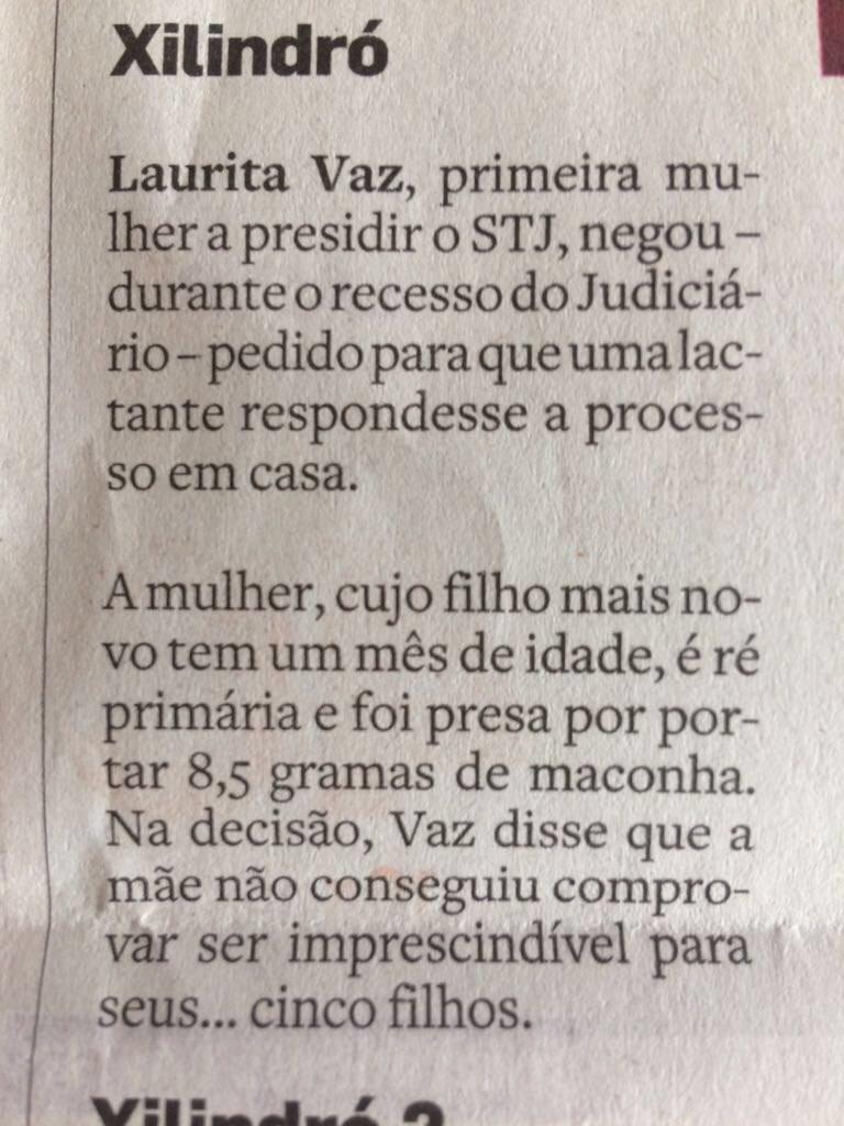 """A justiça brasileira tem de ser humana e justa. Para todo mundo, pobres e ricos. Não é insuflando ódio contra a """"mulher de Cabral"""", ou contra o """"filho da desembargadora"""", que iremos ajudar ninguém. O que precisamos fazer é expurgar a cultura fascista da sociedade, e isso se faz com educação, cultura e debate"""