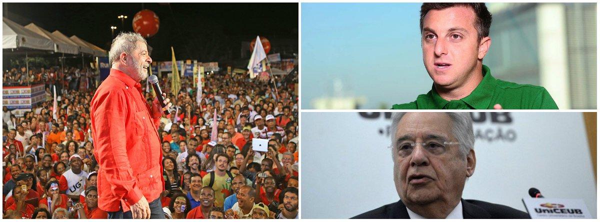 """""""O banimento eleitoral do ex-presidente Lula parece ser uma realidade incontornável. Este desfecho somente não se confirmaria num cenário a essas alturas improvável, de reversão da farsa judicial arquitetada pela Lava Jato para retirar Lula da eleição. Mesmo banindo Lula, contudo, o plano da oligarquia golpista de dar continuidade ao golpe via legitimação eleitoral, continua sem viabilidade"""", diz colunista Jeferson Miola; """"FHC, Globo, a direita e o grande capital se movem em desespero para salvar o golpe. A movimentação para viabilizar a candidatura do animador de auditório da Globo, Luciano Huck, é parte desta tentativa desesperada que também fracassará"""""""